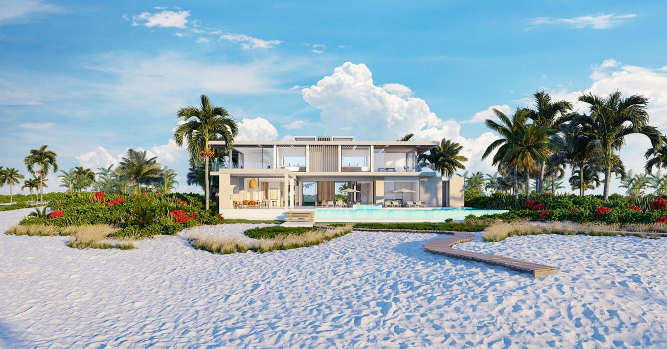 Peninsula Villa, Beach View